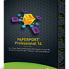 Nuance PaperPort Professional 14.5 + Serial Key