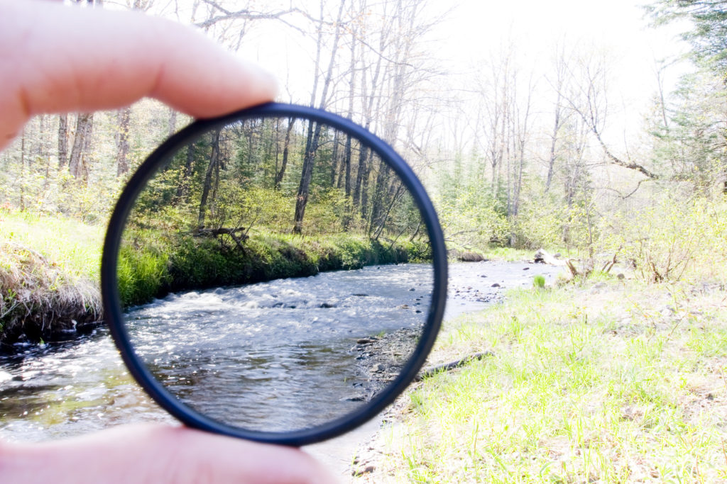 Neutral density filter for long exposure photography