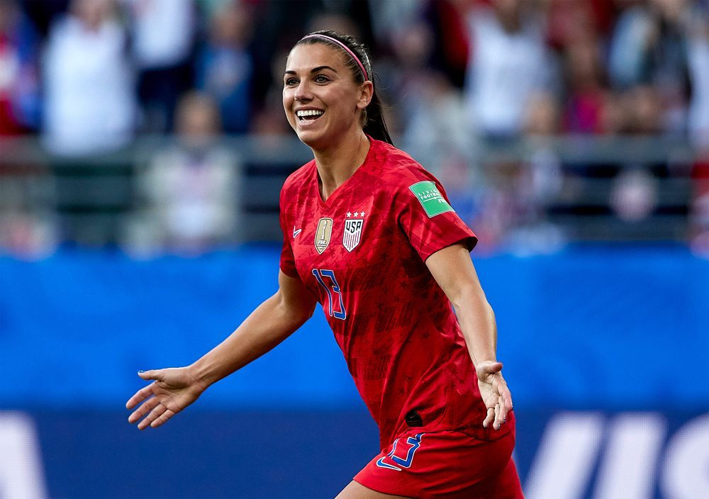 Vegan athlete - Alex Morgan