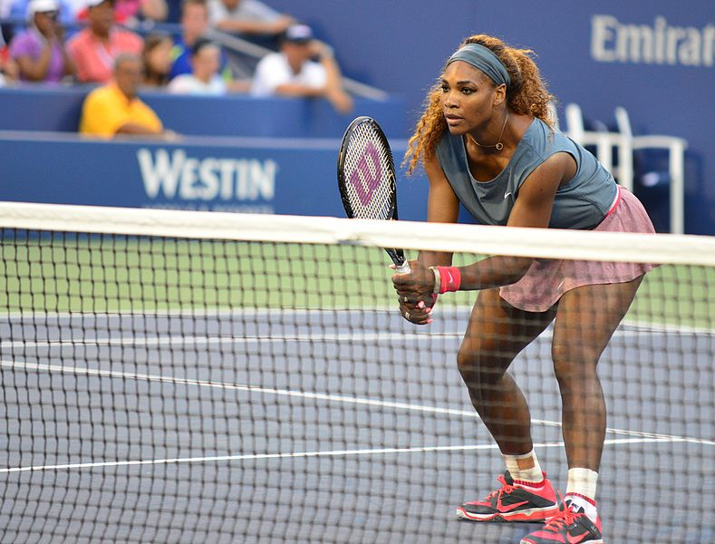 Serena Williams- famous vegan athletes