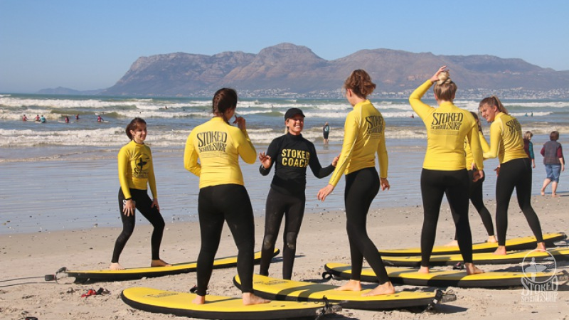 surf school - things to do in cape town
