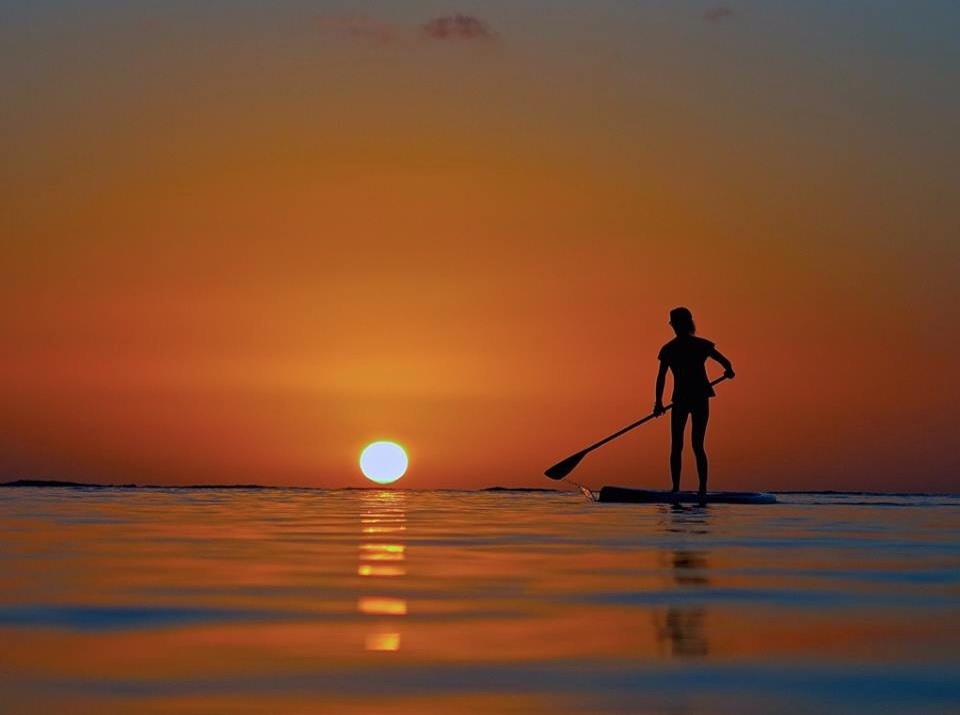 sunset sup in cape town