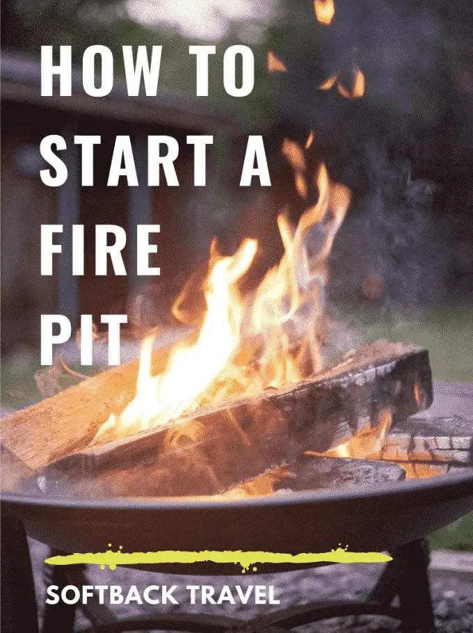 How To Start a Fire Pit (#1 Fire Starter Tips & Tricks)
