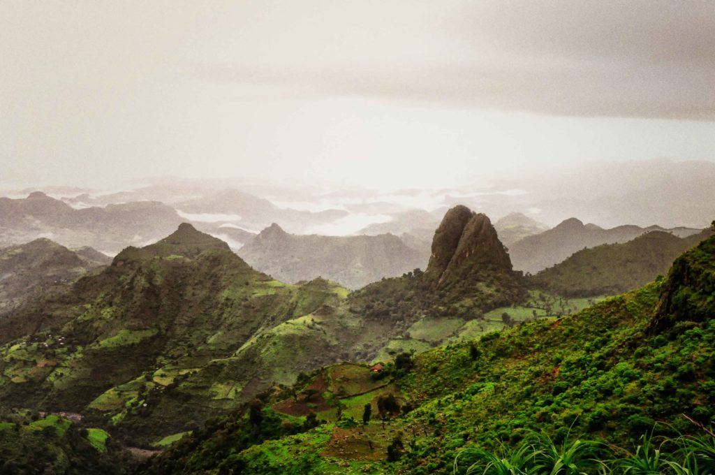 Simien Mountains national park - best places to visit in africa