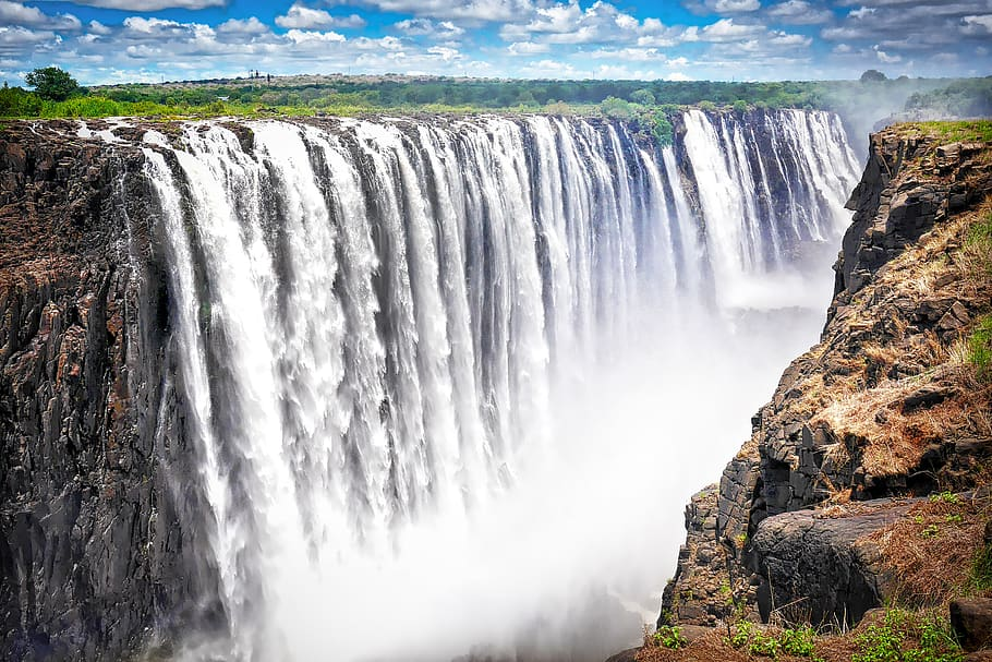 Victoria falls - Zambia - best places to travel in africa