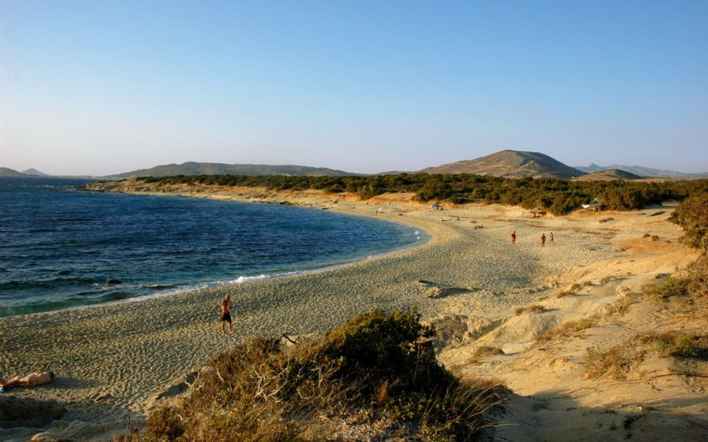 Aliko Hawaii Beach Naxos