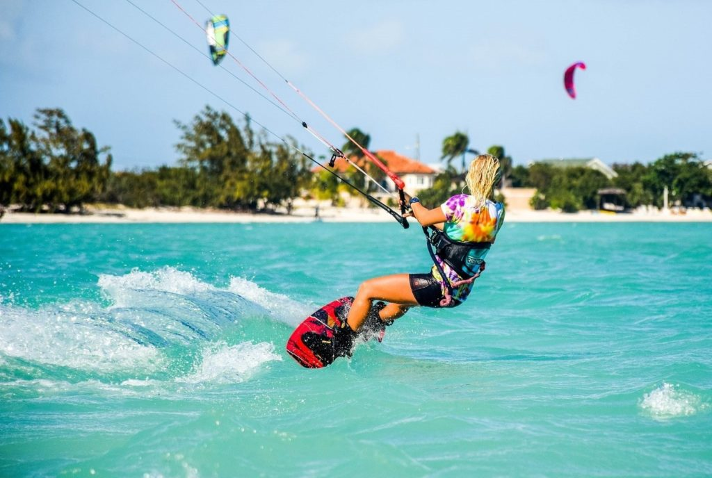 eco-friendly experience - kitesurfing