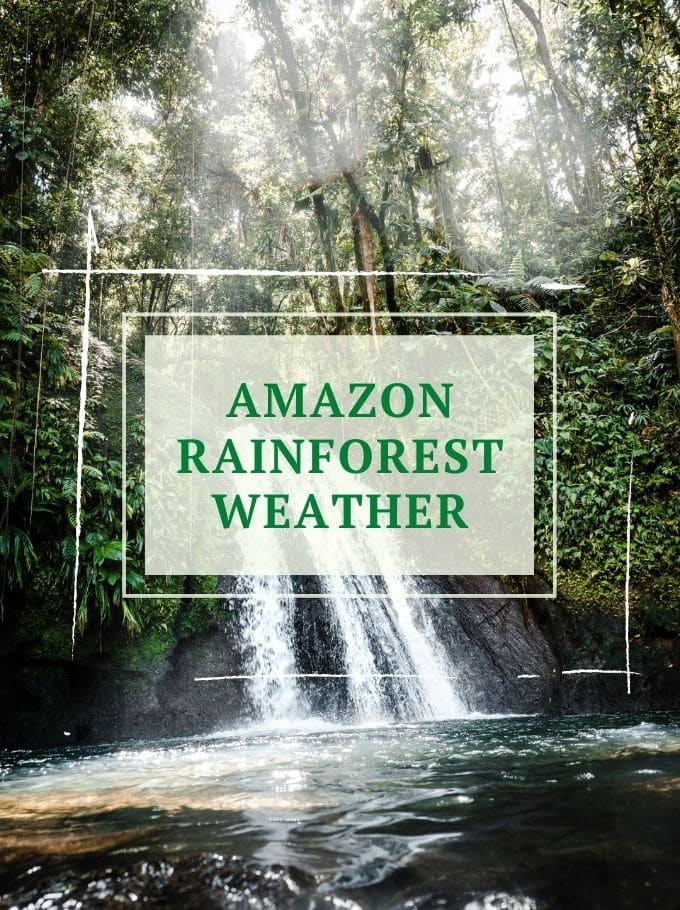 Amazon rainforest weather