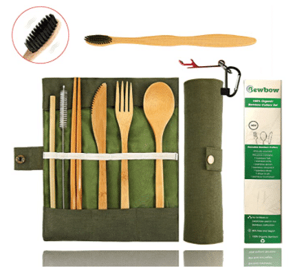 eco-friendly bamboo utensils