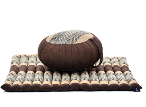 eco-friendly meditation cushion set