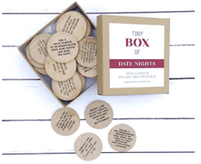 eco-friendly date idea box