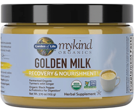 organic golden milk