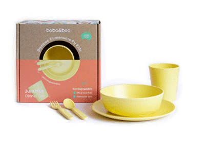eco-friendly dinner ware for children