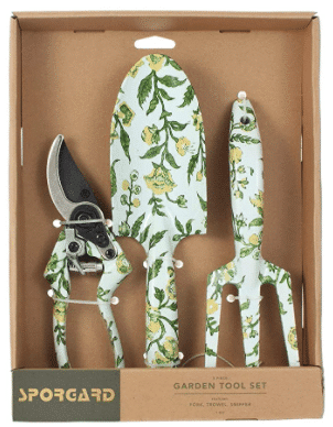 eco-friendly gift: Garden tool set