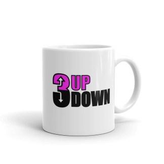 5fa34ee30eb 3 Up 3 Down Fastpitch Softball Coffee Cup Mug
