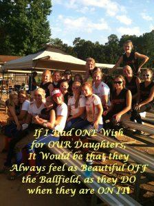 Softball Girls – YOU ARE Beautiful!