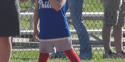 When My Daughter Comes up to Bat | Softball is for Girls