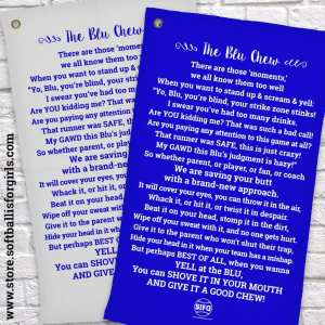 A **FREE** Public Service for Softball is For Girls Fans – The Blue Chew®