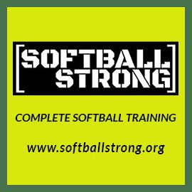 Softball Strong training SIFG ad