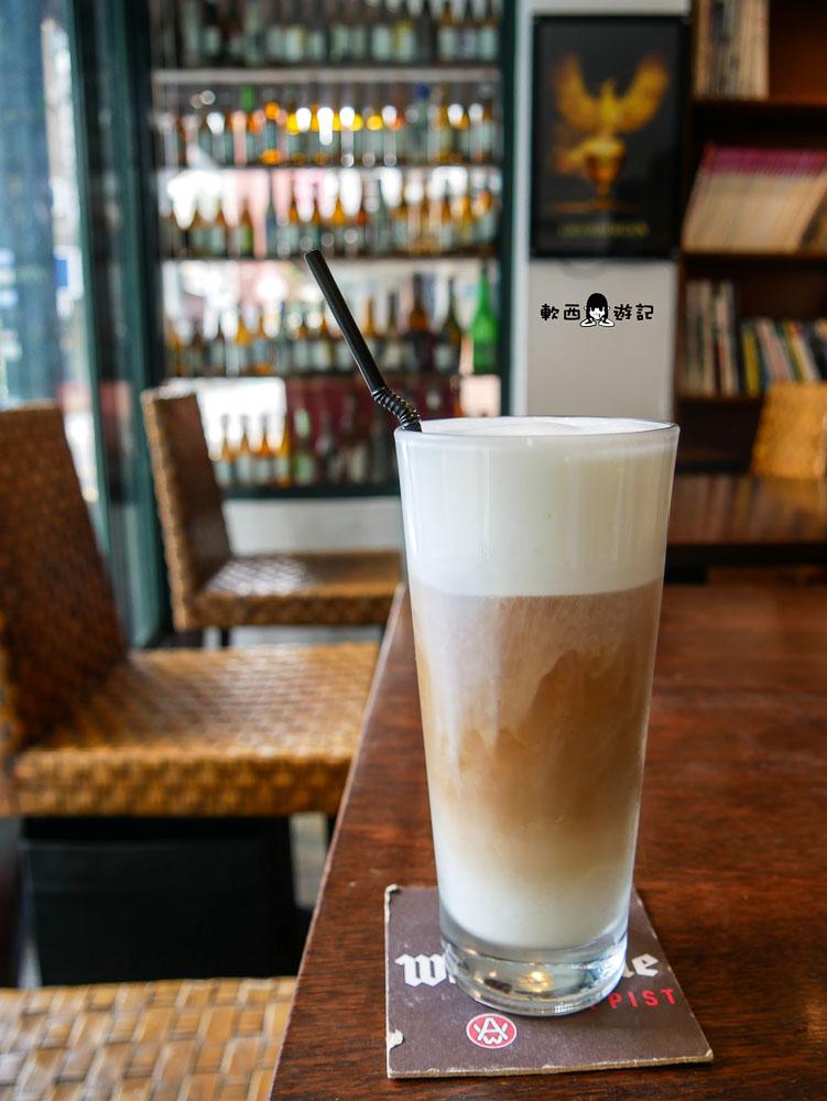 公館咖啡廳》Cafe Bastille台大●咖啡廳入夜更熱鬧!台大咖啡廳搖身一變小餐酒館 有包廂不限時台大咖啡廳好去處