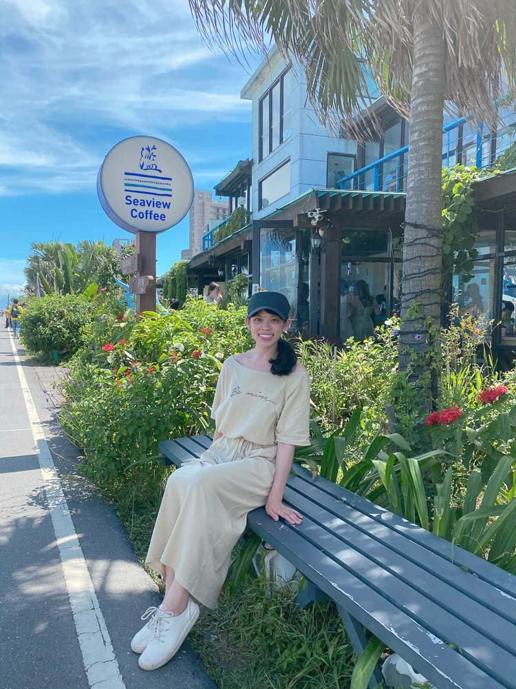 宜蘭頭城海景咖啡廳》灆咖啡Seaview Coffee●來灆咖啡喝咖啡看龜山島!與海為鄰~宜蘭眺望龜山島海景咖啡廳