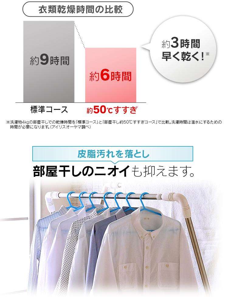 アイリスオーヤマ ドラム式洗濯機 8.0kg FL81R-W