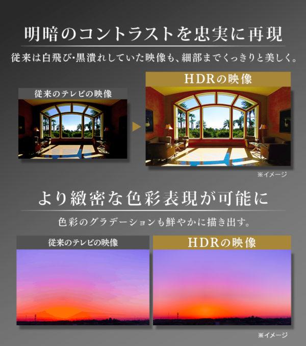 アイリスオーヤマのテレビLUCA【4Kチューナー内蔵テレビ】8