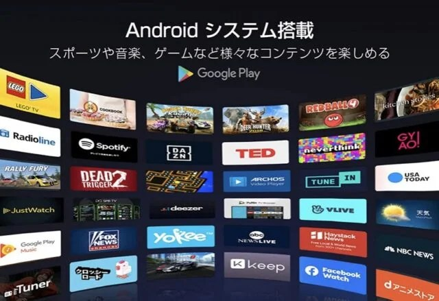 Android搭載