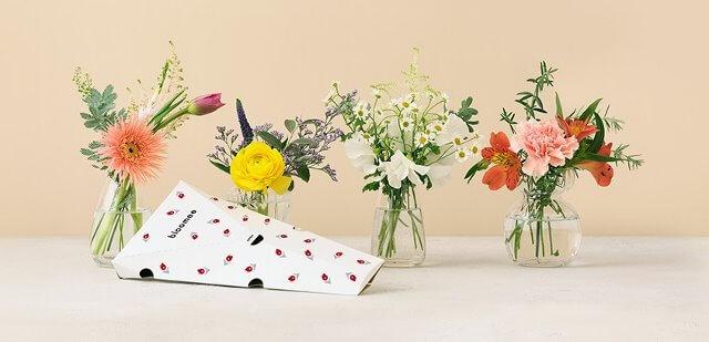 お花のサブスク bloomee口コミや評判 注文から解約方法まで