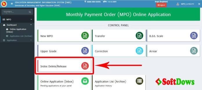 MPO Index Delete, EMIS Index Delete, MPO Release Guideline, EMIS MPO Release