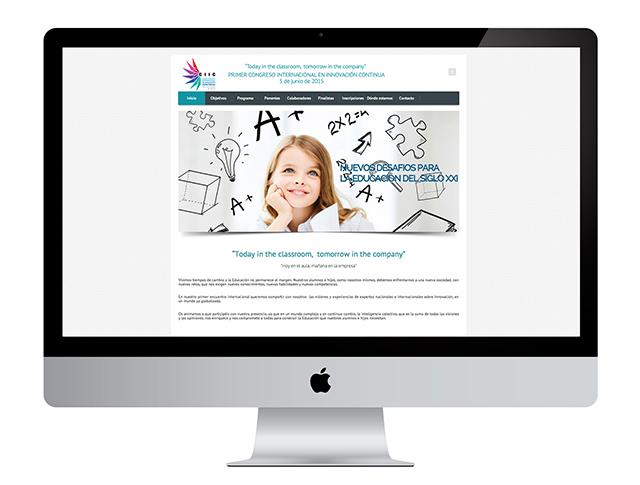 En el departamento de diseño web Alcorcón realizamos la creación y diseño de la web de CIIC