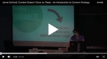 Content Doesn't Grow on Trees – Content Strategy Intro by @JamieSchmid