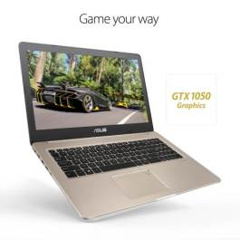 Asus VivoBook Pro 15 N580GD Intel 8th Gen Core i7-8750H (256GB SSD+4GB Graphics+Genuine Win 10) 15.6″ FHD Laptop