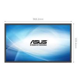 Asus SD434-YB 43″ Commercial Display (60Hz Frame Rate+178°+ RJ45) Full HD Monitor