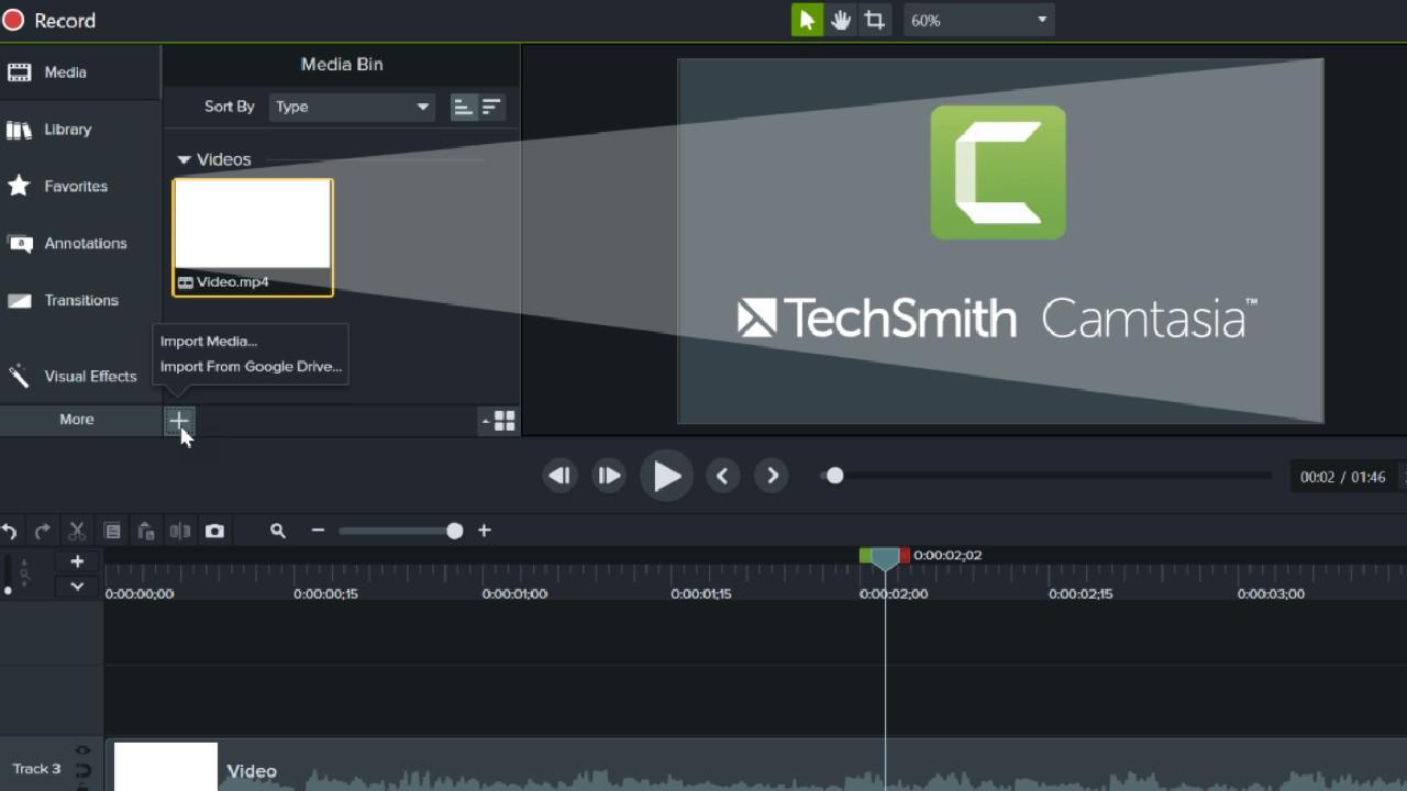 Camtasia Studio for Mac