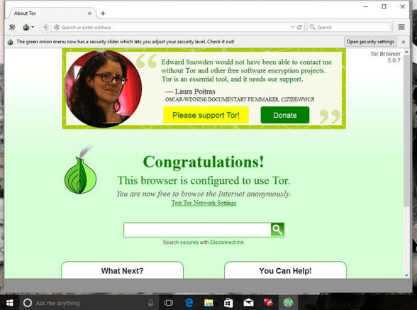 Tor Browser for Windows