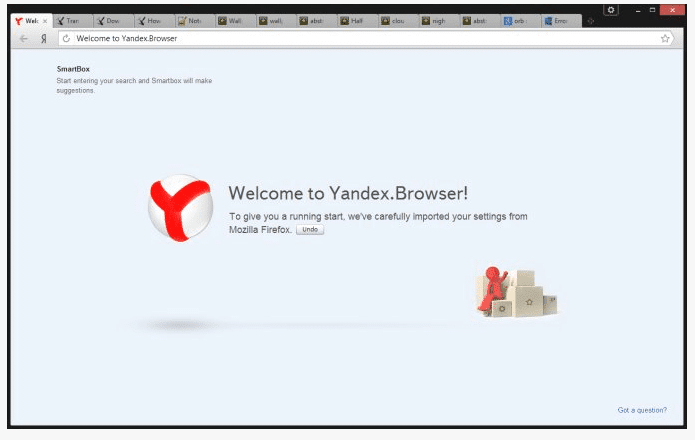 Yandex Browser for Windows