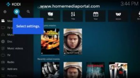 Set Up Your XBMC Media Center