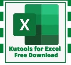 Kutools for Excel Free Download