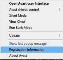 Avast free registration code 2019