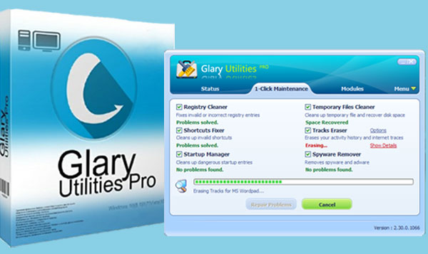 glarysoft registry repair full version