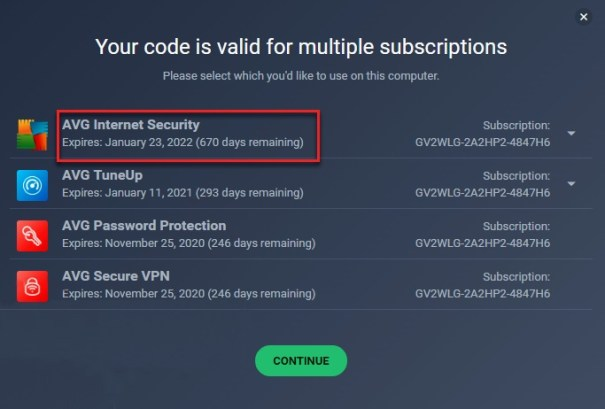 avg internet security giveaway license code