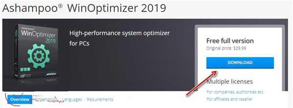ashampoo winoptimizer 2019 serial key
