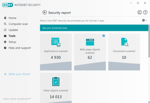 ESET Internet Security Username and Password