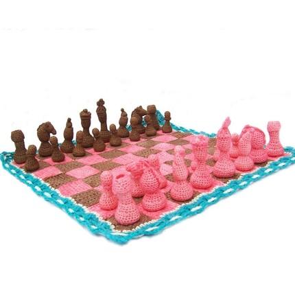 amigurumi chess