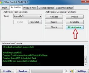 Microsoft Toolkit 2.6.7 Activator For windows and Office