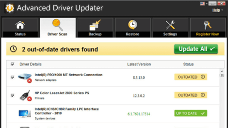 Advanced Driver Updater 4.8 Crack With Full License Key 2021