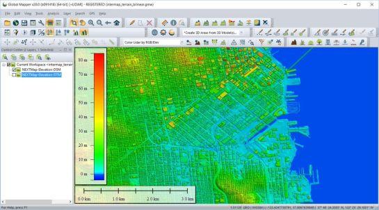 Global Mapper 22.0.1 Crack Full Version Free Download