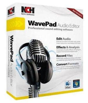 WavePad Sound Editor Masters [10.84] Crack + Serial Key Latest Download