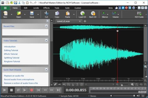 WavePad Sound Editor Masters [10.84] Crack + Serial Key Latest Download